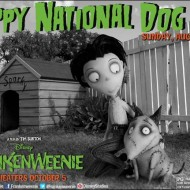 Happy National Dog Day from Frankenweenie & Toby! #DisneyMoviesEvent