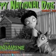 Happy National Dog Day from Frankenweenie & Toby! #DisneyMoviesEvent