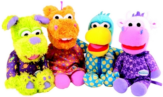 Meet the Pajanimals Plush