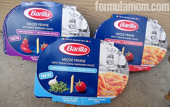 Barilla Microwaveable Meals On the Go