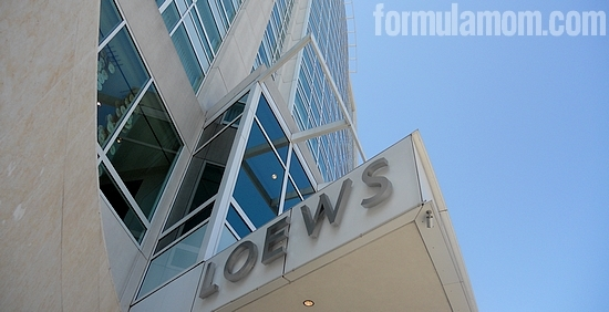Loews Hollywood Hotel #DisneyMoviesEvent