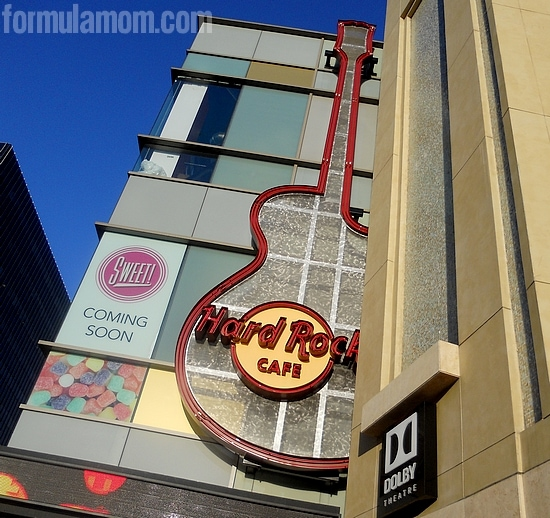 Hard Rock Cafe Hollywood #DisneyMoviesEvent