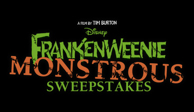 Frankenweenie Monstrous Sweepstakes Spooktacular Vacation #DisneyMoviesEvent