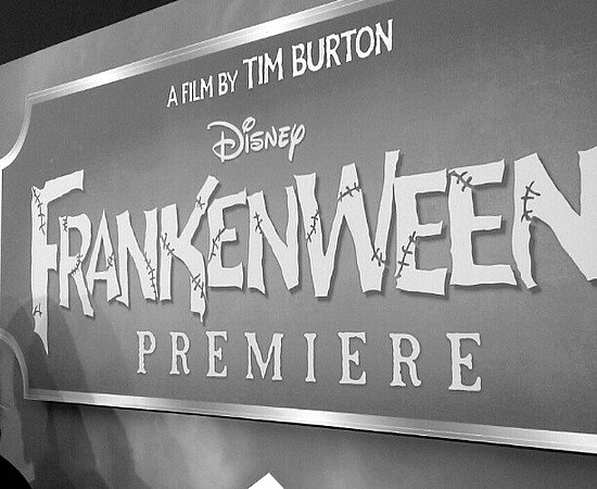 On the white carpet! #Frankenweenie premiere #DisneyMoviesEvent