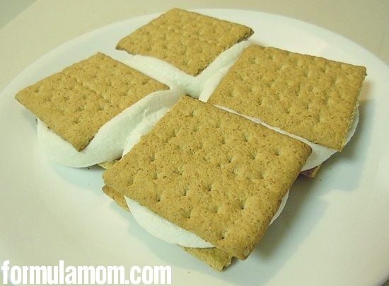 Microwave S'mores in Less than a Minute