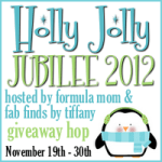 For Bloggers: Holly Jolly Jubilee 2012 Giveaway Hop