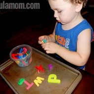 Keeping Toddlers Busy with Letter Awareness