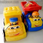 Mega Bloks Lil' Vehicles Preschool Construction Toys