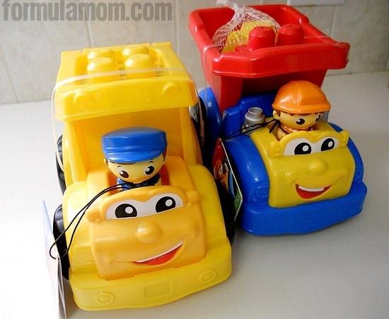 Mega Bloks Lil' Vehicles Preschool Construction Toys