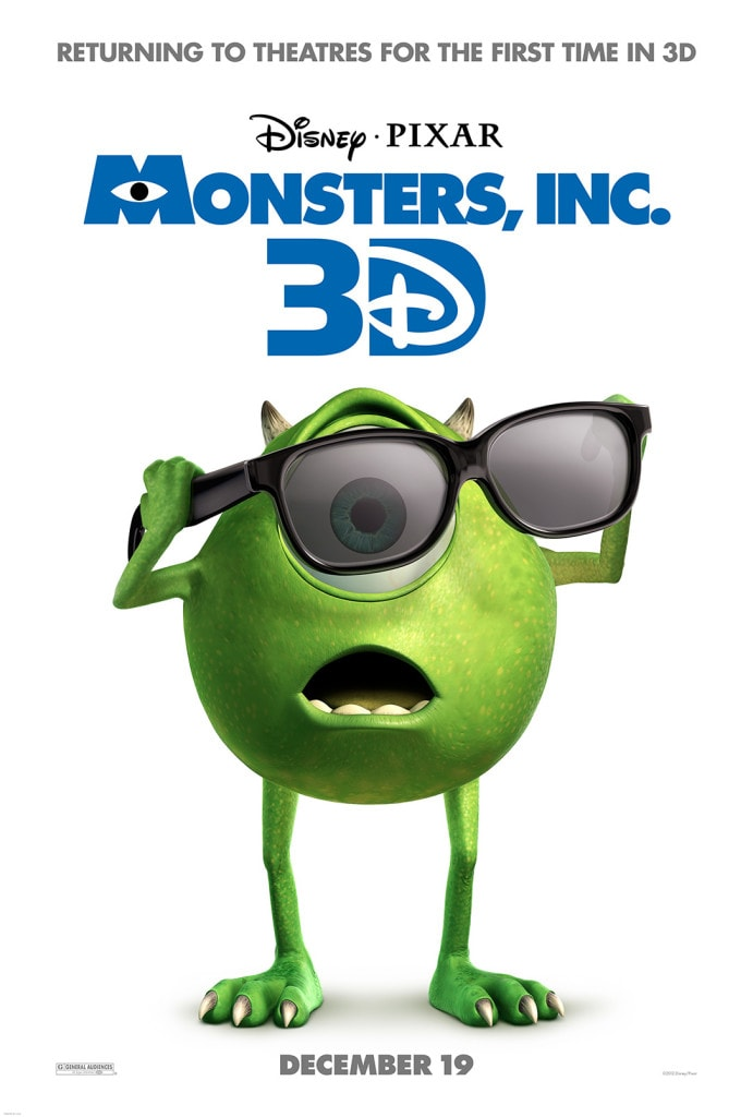 Wordless Wednesday: Monsters Inc. 3D