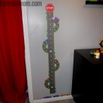 Customized Growth Chart Decal from Oliver's Labels