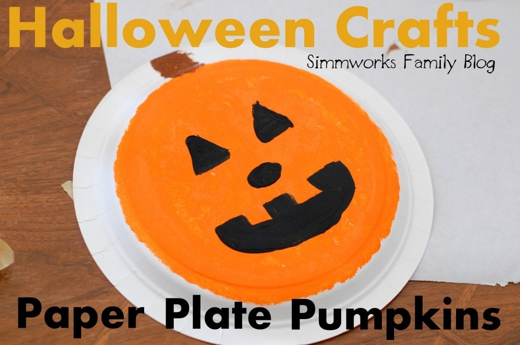 Paper Plate Pumpkin Craft & Paper Plate Pumpkin Craft u2022 The Simple Parent