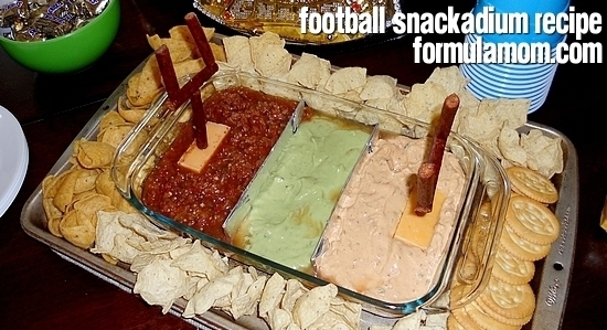 Easy Football Snackadium Recipe