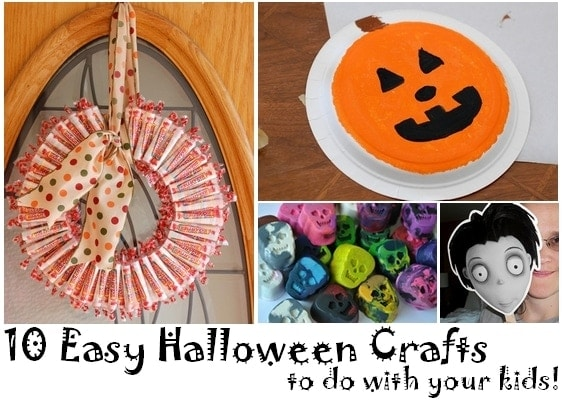 10 Easy Halloween Crafts to do with Kids