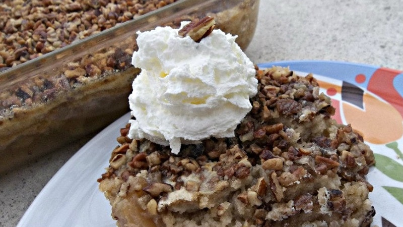 Thanksgiving Recipe: Apple Dump Cake