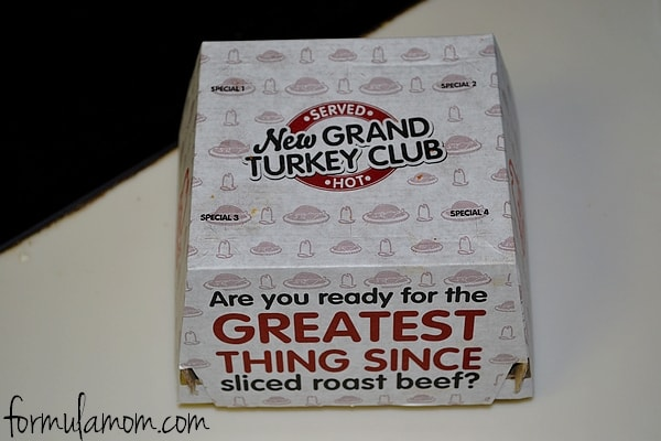 Arby's Grand Turkey Club #craveability