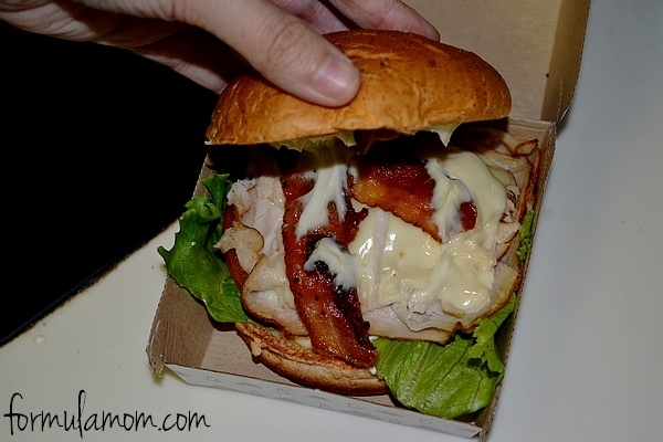 Hot Arby's Grand Turkey Club #craveability