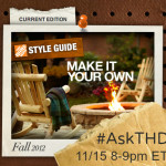 Join The Home Depot Twitter Q&A on 11/15 #AskTHD