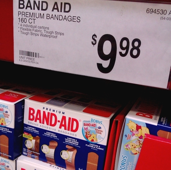 Get #HealthyValue with BAND-AID® at Sam's Club