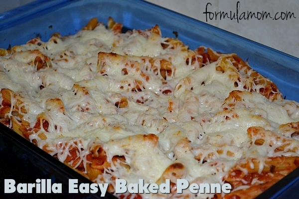 Easy Baked Pasta with Barilla