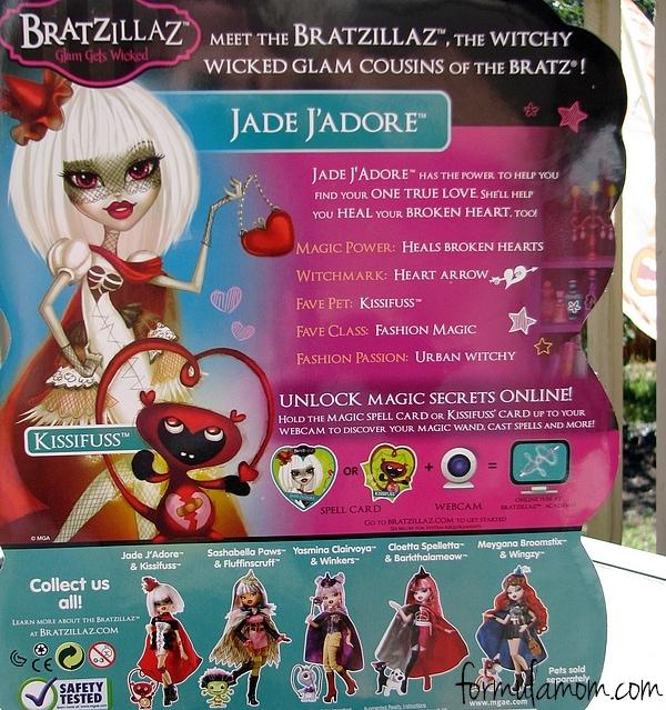 Bratzillaz Jade J'Adore Review