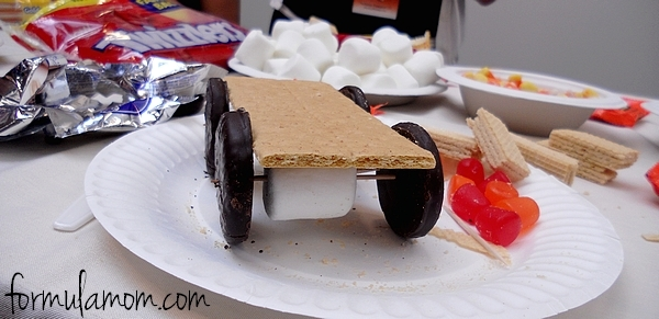 Designing a Candy Car is Fun & Delicious! #DisneyMoviesEvent