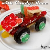 Crafts with Candy: #WreckItRalph Candy Race Cars #DisneyMoviesEvent