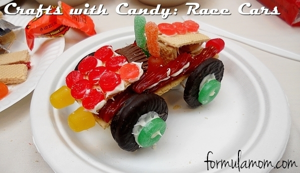 Crafts with Candy: #WreckItRalph Race Cars #DisneyMoviesEvent