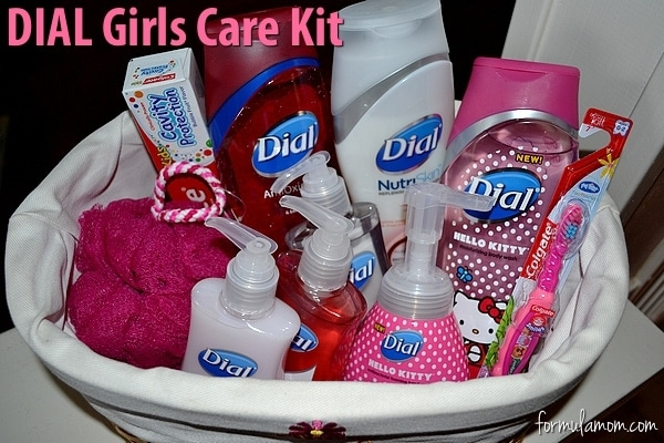 Dial Girls Care Kit Champions For Kids #DialCFK