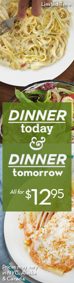 Dinner Today & Dinner Tomorrow at Olive Garden #Dinner2Day