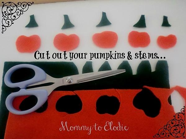 Five Little Pumpkins Glove Craft