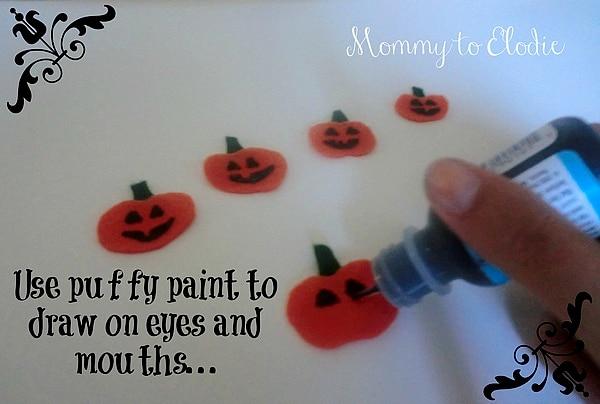 Preschool Craft: Five Little Pumpkins