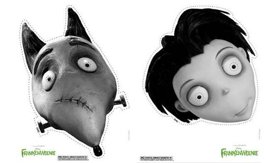 #Frankenweenie Masks #DisneyMoviesEvent