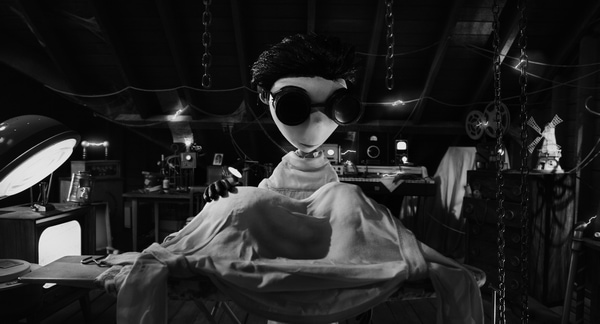 Frankenweenie Review #DisneyMoviesEvent