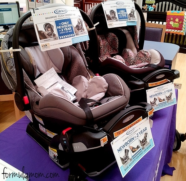 Graco SnugRide Click Connect 40 #gracosafety
