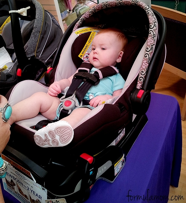 #GracoSafety Graco Snugride ClickConnect 40