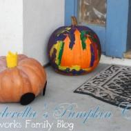 Halloween Painted Pumpkins