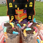Halloween Worms in Dirt Recipe Inspired by Frankenweenie