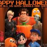 Happy Halloween from Wreck-It Ralph! #WreckItRalph