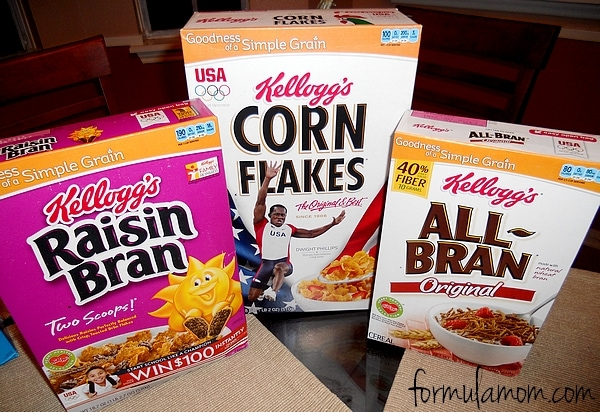 What's in your cereal? Kellogg's Start Simple, Start Right