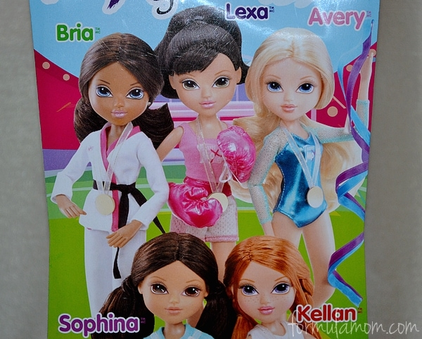 Moxie Girlz World of Sportz Dolls