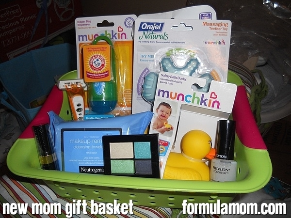 New Mom Gift Basket featuring Neutrogena #HealthyValue
