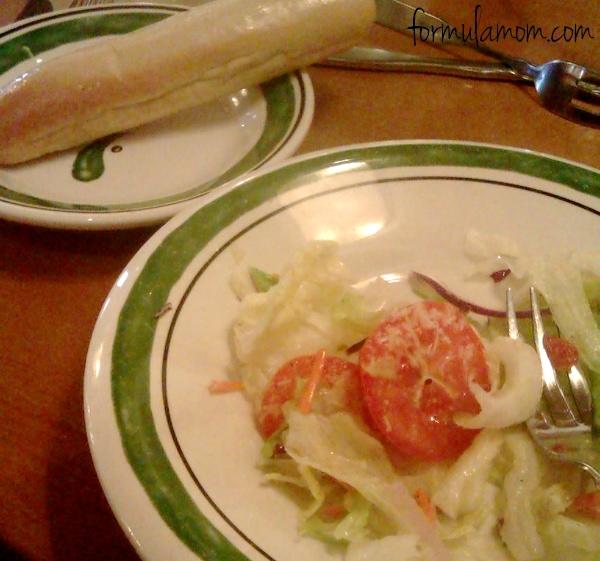Having Dinner Today & Dinner Tomorrow at Olive Garden