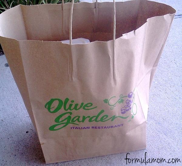 Olive Garden Dinner Tomorrow