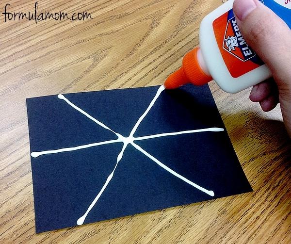 Easy Spider Web Craft