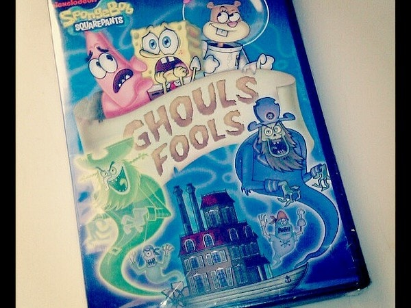Happy Halloween! SpongeBob SquarePants: Ghoul Fools DVD