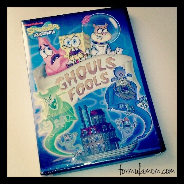 SpongeBob Ghouls Fool DVD great for Halloween!