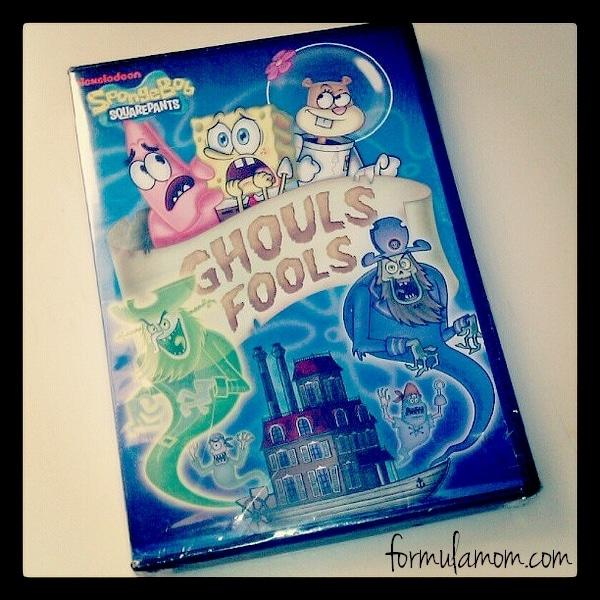 SpongeBob Ghouls Fool DVD great for Halloween!