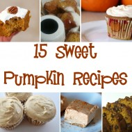 15 Sweet Pumpkin Recipes
