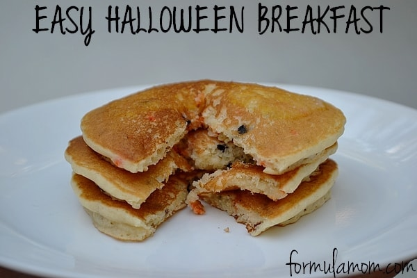 Easy Halloween Breakfast #BalanceRewards